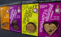 suite of cookie boxes we designed - bold and striking. Each different yet complimentary New Product, Product Launch, Cookie Box, Boxes, Packaging, Branding, Mood, Cookies, Design