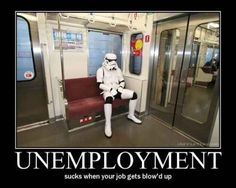 """How much it would suck to be a Stormtrooper. 