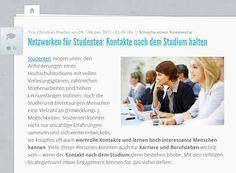 Kontakte müssen über das Studium hinaus gepflegt werden. Quelle: http://karrierebibel.de/netzwerken-fuer-studenten-kontakte-nach-dem-studium-halten/