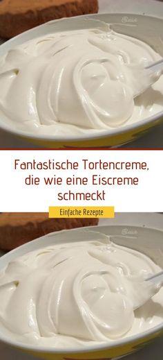Cookie Desserts, No Bake Desserts, German Baking, Sweet Cooking, Ganache, Easy Cake Recipes, Food Humor, Cream Cake, Desert Recipes
