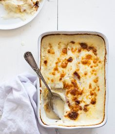 Lasagne met witte asperges en ei