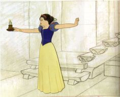 Filmic Light - Snow White Archive: Snow White Production Drawings & Cels