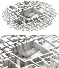 Negative Space Illustrations by Matthew Borett | Inspiration Grid | Design Inspiration