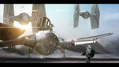 Storm Troopers In TIE Fighters