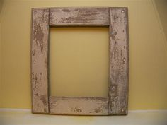 Old barn wood reclaimed as frame / mostly pinning this to remind myself to re-purpose a frame i have like this at my parents' house!
