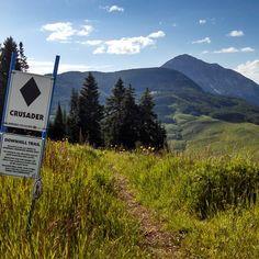 Love Crusader! #colorado #crestedbutte #mountainbiking #trailgram #cbmr