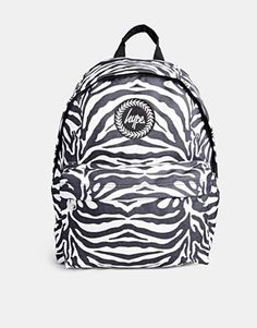 Hype Backpack in Zebra Print