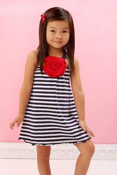 This dress would be adorable on my girls!