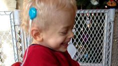 Watch this boy's amazing reaction when he finally hears mom's voice