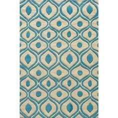 Bliss Blue 8 ft. x 10 ft. Area Rug