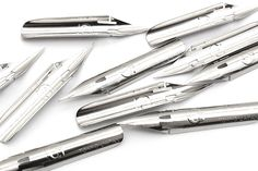 These Hard G nibs are designed to be firmer than regular G nibs, making it easier to create thin, consistent lines.