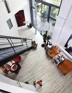 Laminat | Talamo | LS 300 | Eiche Bodega | 6403 | Holznachbildung – Eingang Modern Haus Treppe MEISTER