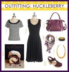 Outfit Inspired by the Huckleberry Cookbook! //shutterbean