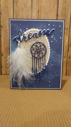Stampin Up's Follow Your Dreams Scrapbooking, Scrapbook Cards, Dawns Stamping Thoughts, Stampin Up Anleitung, Feather Cards, Horse Cards, Feather Dream Catcher, Stamping Up Cards, Marianne Design