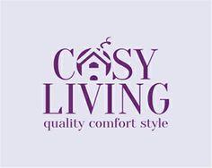 Cosy Living Logo design - construction, landscape design, interiors, housing design, real estate Price $450.00 Logan, Cosy Living, Real Estate Branding, Comfortable Fashion, Artwork, Style, Swag, Work Of Art, Auguste Rodin Artwork
