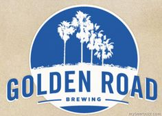 You may have read or heard over the past couple years that Anheuser-Busch purchased a craft brewer from Los Angeles, California, called Golden Road Brewing. You may have also noticed a lack of Gold… Beer Company, Brewing Company, Golden Road Brewery, Road Logo, Brewery Logos, Beer Brands, Event Services, North Beach, Home Brewing