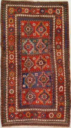 There are many pointers to consider if you want to have the best caucasian rugs. You can visit a site offering high quality rugs that can help you decide which one is the best. Persian Pattern, Textiles, Cool Rugs, Traditional Rugs, Tribal Rug, Rugs On Carpet, Bohemian Rug, Weaving, Antiques