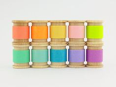 MT solid pastel coloured washi tapes on wooden by WashiTapeLove, $13.20