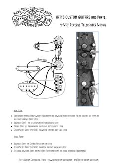 artys custom guitars telecaster standard wiring kit harness arty s custom guitars wiring diagram 4 way reverse control plate plan telecaster assembly harness tele