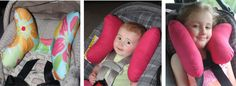 Butterfly Baby Pillow | Butterfly Baby Pillows are car seat & stroller head support aids for infants, toddlers and children