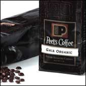 Gaia Organic Blend--Vibrant, juicy and complex. This coffee is a lively blend of certified organic coffees from Central America, East Africa and the Pacific.