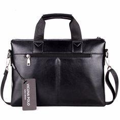 Викуньи поло хит продаж Модные Простые в горошек известный бренд деловые мужчины портфель сумка кожаная сумка для ноутбука случайный человек сумка сумки