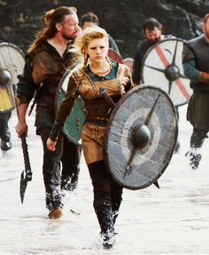 Lagertha -- History Channel's VIKINGS. Love her.