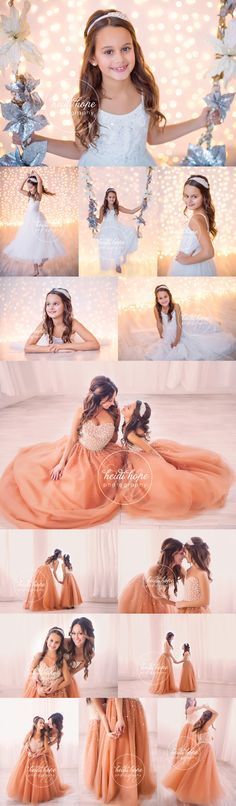 L and S, a Mother-Daughter Shoot   Heidi Hope Photography /// These photos are beautiful...I love the ones with the matching dresses