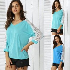 New Vogue Girls's Chiffon Tops Lengthy Sleeve Shirt Informal Shirt Free T-Shirts   Description: 100% Model New and Excessive High quality!! Colour: Pink, Inexperienced, Blue Materials: Chiffon  Tag Dimension: S,M,L,XL ( This is Label Dimension(Asian/China measurement)about 2/three sizes smaller than US/AU/EU measurement. please ensure that of those precise measurements will suit you!!) Tag Dimension S M L XL Advocate US Dimension 2 2-Four 6 eight Advocate AU/UK …