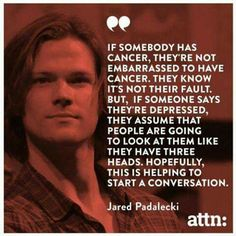 I love that he's just so honest about it. That he knows he's not the only one and that his words have helped others. That's a powerful and overwhelming thing to grasp when you have depression. That other people are still around because of what you've said. #AlwaysKeepFighting