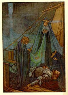 Florence Harrison / king arthur's death