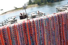 Carpet washing platform or mattolaituri in Finnish. These can be found all over Finland, by rivers, lakes or the sea.