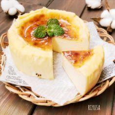 生クリ&砂糖なし❤️焼くまで5分❤️お豆腐のチーズケーキ☺︎材料12㎝丸型 クリームチーズ 100g 絹豆腐 100g 市販のカップアイス(バニラ) 200ml 薄力粉 大さじ2 あればアプリコットジャムなど