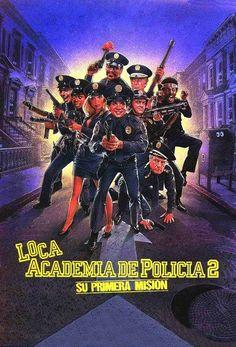 Loca academia de policía 2 – Su primera misión (1985)
