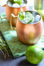 Moscow Mule...mmmm ginger beer!