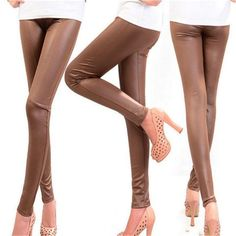 691129e2a851e Pants & Capris. Leather TrousersFaux Leather LeggingsTrousers WomenLeather  ...