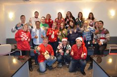 Happy Holidays from the #SEP team! #UglyChristmasSweater