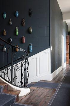 des suspensions xxl pour d corer la cage d 39 escalier les id es de c t est pour r veiller une. Black Bedroom Furniture Sets. Home Design Ideas