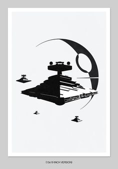 Star Wars Inspired  Abstract Graphic Print.