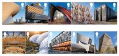 #RoyalMail #Contemporary Architecture #Stamps #IconicBuildings