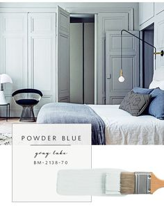 Our Top Color Palette Trends Spring 2017 - Powder Blue