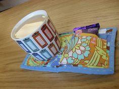 Tea Wallet with built in Mug Rug - PURSES, BAGS, WALLETS