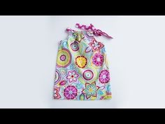 Learn to Sew: Pillowcase Dress - YouTube