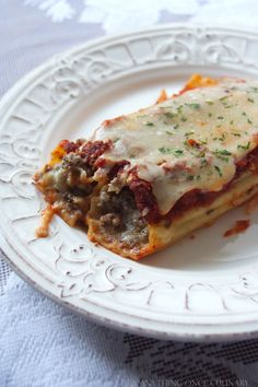 I've made manicotti for you and I to share today. When you make this recipe for your family, I know you'll enjoy spending time together over this warm, comforting dish!