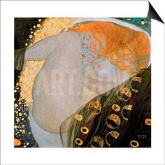 Danae, 1907 SwitchArt™ Print by Gustav Klimt at Art.com
