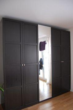 Ikea Pax Wardrobe With Hemnes Doors                                                                                                            IKEA Pax Hemnes Wardrobes             by        Kez_Lyons      on        Flickr