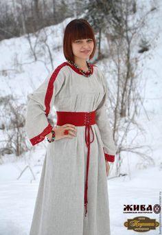 Народный славянские платья