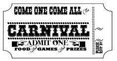 Bringing Home Ezra: New Carnival invitation printable freebie
