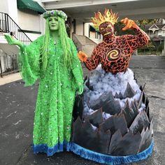 Te Fiti Costume, Moana Costume Diy, Moana Halloween Costume, Clever Halloween Costumes, Halloween Kostüm, Creative Halloween Costumes, Halloween Cosplay, Cool Costumes, Moana Costumes