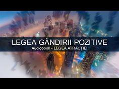 Legea Atractiei - Legea Gandirii Pozitive - YouTube Audio Books, Spirituality, Youtube, Spiritual, Youtubers